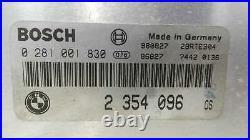 2354096 boîtier moteur uce bmw 5 touring 530 d (184 cv) 1998 572635