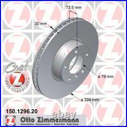 2 Zimmermann Disques 324mm avant Pour BMW 5 E39 + Touring 520 530 535 540