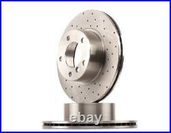 2x RIDEX Disque de frein VORNE pour BMW 5 E39 5 Touring E39
