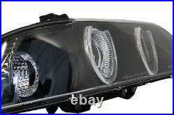 Angel Eyes Phares Pour BMW Série 5 E39 Berline Touring 96-03 Seulement Halogèn