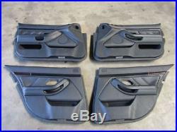 BMW 5 TOURING (E39) 530d panneaux portière 8212794 Kit Cuir Noir