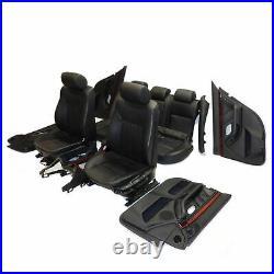 BMW 5-er E39 Touring Modules de Sièges Séance en Cuir Aménagement Intérieur Noir