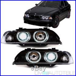 BMW E39 Angel Eyes Xenon Scheinwerfer Facelift weiße Blinker Upgrade 00-03 D2S