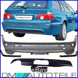 BMW E39 Touring Stoßstange Hinten Heck für PDC+AHK vorbereitet +Zubehör M5 95-03