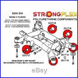 BMW E39 Touring kit de silentbloc de montage de sous châssis arrière 33311094036
