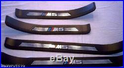 BMW Véritable E39 5 Series Touring Sedan 1997-2003 M5 Seuil Porte Plaques New