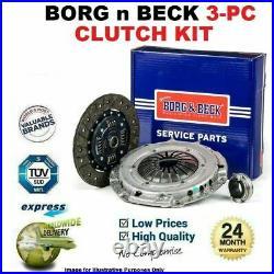 BORG n BECK 3PC Kit Embrayage pour BMW 5 Touring 530 D 2000-2004