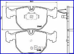 BREMBO Essieu Avant Frein Disques + Set Plaquettes Pour BMW 5 Touring (E39) 530