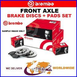 BREMBO Essieu Avant Frein Disques + Set Plaquettes Pour BMW 5 Touring (E39) 540/