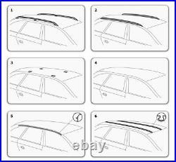 Barres de Toit pour BMW 5 Série E39 Touring Break 1997-2003