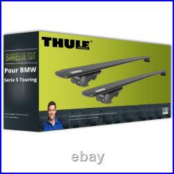 Barres de toit alu pour BMW Serie 5 Touring type E39 Thule WingBar EVO NEUF