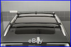 Barres de toit noir pour BMW Serie 5 E39 Touring 97-03 longitudinales ouvertes