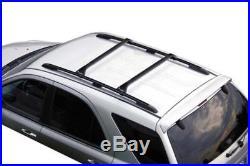 Barres de toit pour BMW 5 Series Touring 1997-2004 avec rails surélevés
