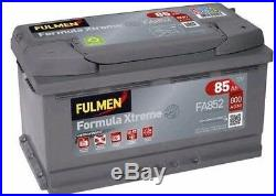 Batterie Fulmen FA852 12v 85ah 800A F18 Chrysler 300C Touring 3.5 / 3.5 AWD 09/0