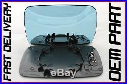Bmw Série 5 540 Touring E39 1996-2003 Porte Aile Miroir Verre Bleu Chauffé