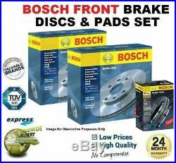 Bosch Disques de Frein avant & Plaquettes Set pour BMW 5 Touring (E39) 520 D