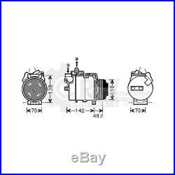 Compresseur Climatisation BMW Série 5 Touring E39 E38 535i M 4.9