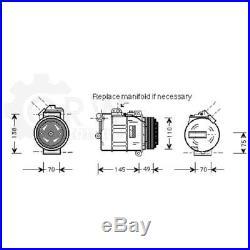 Compresseur Climatisation Compresseur D'Air BMW 7er 3 Touring Compact E61