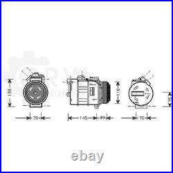 Compresseur Climatisation Compresseur D'Air Pour BMW 5er Touring 3er Cabriolet