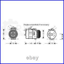 Compresseur Climatisation Compresseur D'Air Pour BMW 7er 3er Touring Compact E61