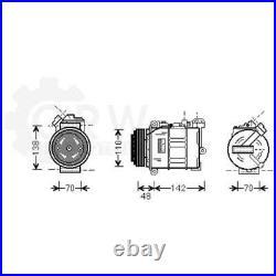 Compresseur Climatisation Compresseur D'Air Pour BMW 7er 5er Touring E38 E39