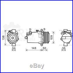 Compresseur Climatisation Compresseur D'Air pour BMW 5er Touring 3er Coupé E39