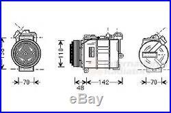 Compresseur, climatisation BMW 5 Touring (E39) 1997 2004