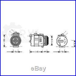 Compresseur climatisation compresseur d'air Bmw Série 3 COUPÉ TOURING E38 E46