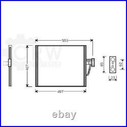 Condensateur Climatisation Condenseur à Air Pour BMW 5er Z8 Touring E39 E52