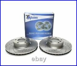 Disques De Frein Avant 324mm Ta Technix Vtah45 Bmw 5 Touring 520d E39 2000-2003