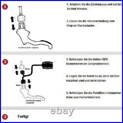Dte Pedal Box Plus App Porte-Clés Pour BMW 5 Touring E39 1996-2004 136PS 100K