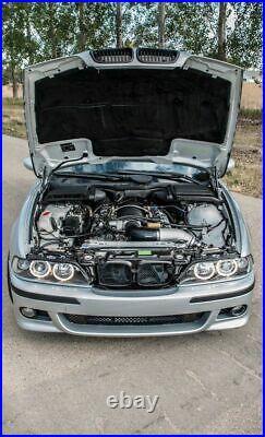 E39 95-03 Pare-chocs avant M5 (Berline, Touring) Plastique ABS noir