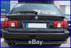 Eisenmann Échappement Sport BMW 5er E39 Touring Diesel M-TECHNIK 2x83mm Réseau