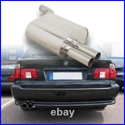 Eisenmann Échappement Sport BMW E39 520 530 Touring 2x76