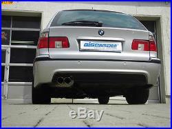Eisenmann échappement sport BMW E39 525d 530d TOURING 2x76