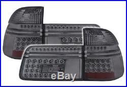 FEUX ARRIERES LED FUME NOIR BMW SERIE 5 E39 TOURING 1996-2004 520i 520d 523i