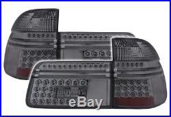 FEUX ARRIERES LED FUME NOIR BMW SERIE 5 E39 TOURING 1996-2004 525d 525i 528i