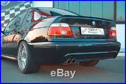 FMS 70mm Inox Échappement Sport Usine BMW 525d 530d Touring 5er E39 Bj 96-2003