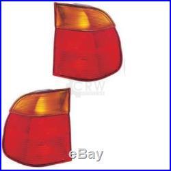 Feux Arrière Jeu Extérieur BMW E39 5er Seulement Touring 95-00 Rouge/Jaune M6Q