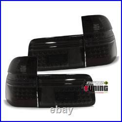 Feux Fumes Noirs A Leds Pour Bmw Serie 5 E39 Touring Break 1997-2004 (02751)