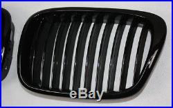 Grille calandre BMW E39 5er LIMOUSINE TOURING noir vernis Piano