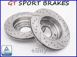 Gt Front Brake Discs Gt0439 Bmw 5 Touring E39 1997-2000 2001 2002 2003 2004 Ø324