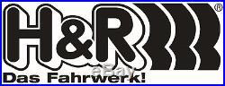 H+R Ressorts ESSIEU AVANT BMW Série 5 E39 5 / D TOURING 525D, 530d 29791-4