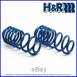 Kit Ressorts courts H&R 29791-4 pour BMW 5er E39 Touring/SW 40/40mm