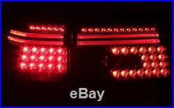 LED Béquille Feux Arrière Feux arrière Kit BMW Série 5 E39 TOURING noir smoke