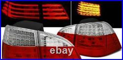 LED Rouge Blanc Feux Arrière Pour BMW E61 03-07 Touring