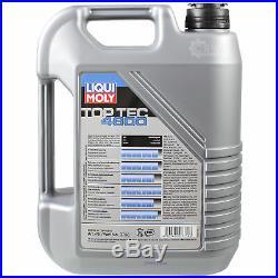 Liqui Moly 7 Litres Toptec 4600 5W-40 Huile Mann-Filter pour BMW 5 Touring E39
