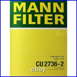 MANN-FILTER Set Pour BMW 5er E39 525i 520i 530i Touring 9716525