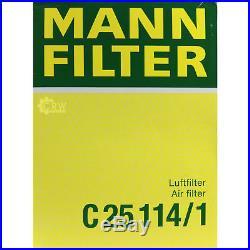 Mann-Filter Paquet Air Huile Carburant BMW 5er Touring E39 525i 520i