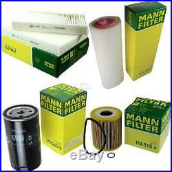 Mann-filter Set Air Intérieur Huile Carburant pour BMW 5er E39 530d Touring